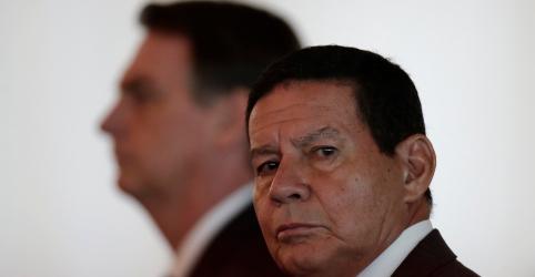 Mourão diz que Moro tem confiança do presidente Bolsonaro