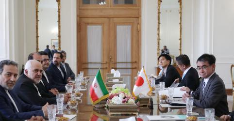 Irã pedirá ajuda de premiê japonês contra sanções dos EUA sobre petróleo