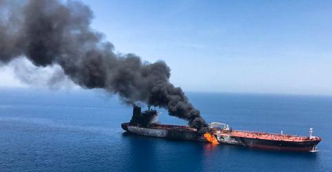 Irã considera 'alarmante' acusação dos EUA de que país atacou navios-tanques