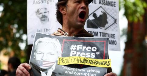 Audiência de extradição de Assange é marcada para fevereiro de 2020