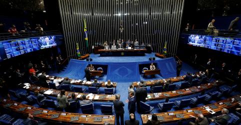 Placeholder - loading - Imagem da notícia Senado derruba decreto de Bolsonaro que flexibiliza posse e porte de armas