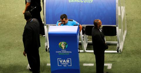Placeholder - loading - Imagem da notícia 'Viva o VAR', comemora técnico da Venezuela após empate sem gols com Brasil