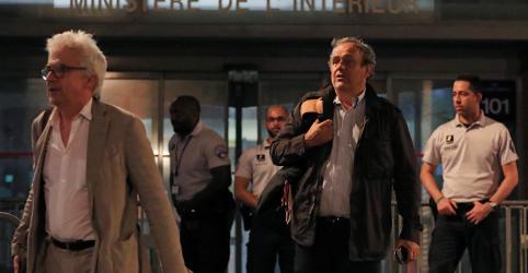 Platini é liberado após interrogatório sobre Copa do Mundo de 2022
