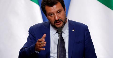 Placeholder - loading - Imagem da notícia Salvini ameaça renunciar devido à disputa orçamentária da Itália com a UE