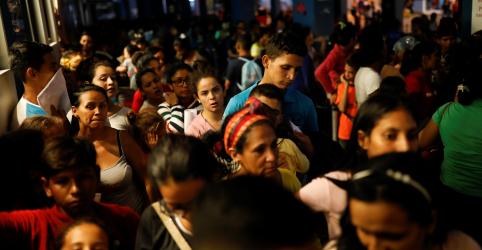 Pedidos de asilo na UE aumentam com mais venezuelanos em busca de refúgio