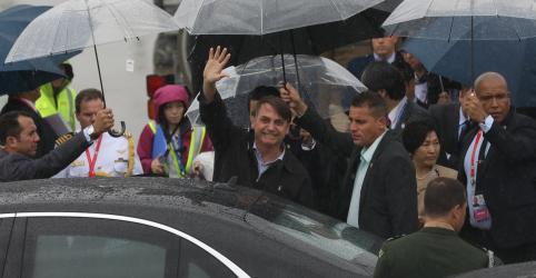 Brasil não aceitará ser advertido por outros países, diz Bolsonaro em chegada ao G20