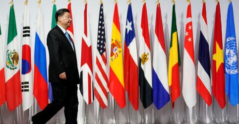Placeholder - loading - Imagem da notícia Protecionismo está afetando ordem do comércio global, diz presidente da China