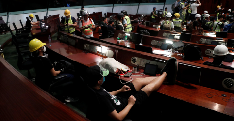 Placeholder - loading - China afirma que protestos violentos em Hong Kong são 'desafio patente' a controle chinês