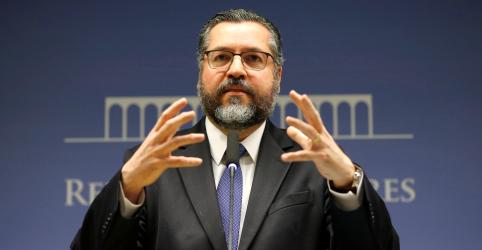Placeholder - loading - Brasil espera que Mercosul assine 2 novos acordos comerciais no 2º semestre, diz chanceler Araújo
