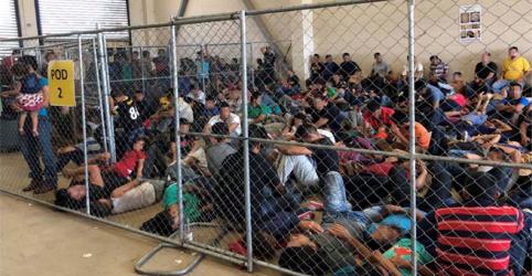 Placeholder - loading - Imagem da notícia Fluxo migratório diminui na fronteira dos EUA, mas condições de detenção preocupam