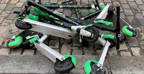 Placeholder - loading - Imagem da notícia Prefeitura do RJ vai cobrar taxas de patinetes e limita velocidade 'para iniciantes'