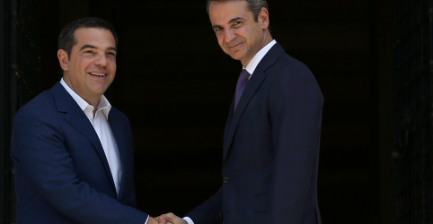 Placeholder - loading - Imagem da notícia Novo premiê conservador da Grécia toma posse após vitória em eleição