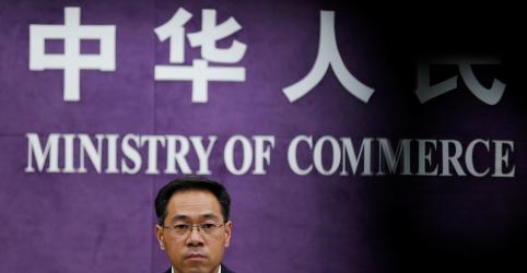 China diz que disputa comercial com EUA pode ser resolvida através de respeito mútuo