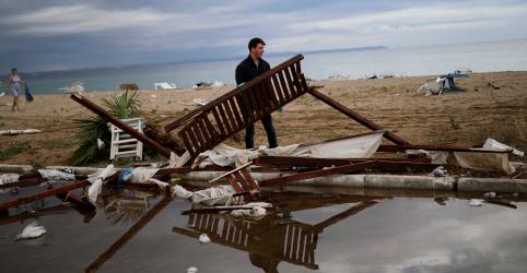 Temporal violento mata 6 estrangeiros em praias do norte da Grécia