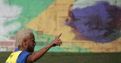 Placeholder - loading - Imagem da notícia Neymar diz que título da Copa América 'cala a boca' dos que dizem que seleção depende dele