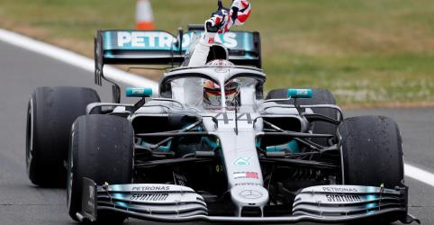 Placeholder - loading - Imagem da notícia Lewis Hamilton vence GP da Grã-Bretanha