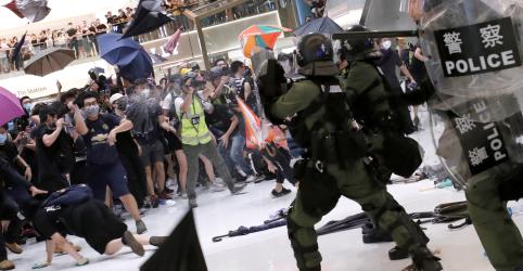 Placeholder - loading - Imagem da notícia Líder de Hong Kong diz que manifestantes de protestos recentes são 'agitadores'
