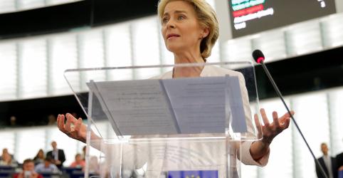Von der Leyen é eleita primeira mulher presidente da Comissão Europeia