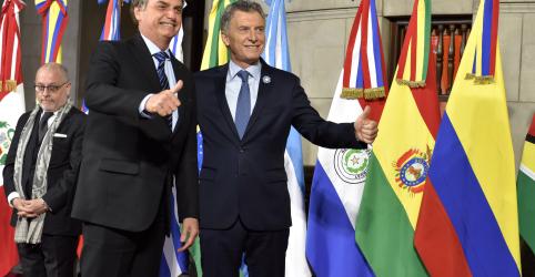 Placeholder - loading - Brasil trabalhará para incluir automóveis e açúcar em união aduaneira do Mercosul, diz Bolsonaro