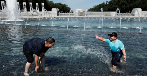 Onda de calor nos EUA deve aumentar no fim de semana; alerta atinge um terço da população