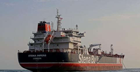 Placeholder - loading - Imagem da notícia Libertem o petroleiro e sua tripulação imediatamente, diz Reino Unido ao Irã