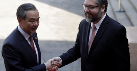 Placeholder - loading - Flerte do Brasil com EUA não deve preocupar a China, diz Araújo