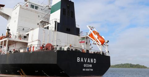 Placeholder - loading - Navio Bavand deixa Paranaguá rumo ao Irã; Termeh aguarda para carregar milho em SC