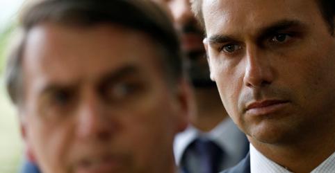 Placeholder - loading - Imagem da notícia Aval de Trump a Eduardo como embaixador mostra confiança no governo, diz Bolsonaro