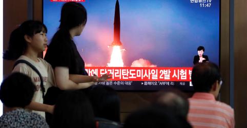 Placeholder - loading - Imagem da notícia Coreia do Norte testa mais mísseis apesar de busca de soluções diplomáticas