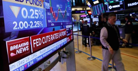 Placeholder - loading - Imagem da notícia Fed reduz taxa de juros e sinaliza que pode não precisar fazer mais corte
