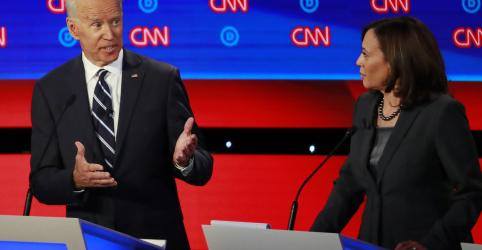 Placeholder - loading - Biden enfrenta ataques duros e reage em debate acirrado de presidenciáveis democratas