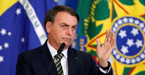 Placeholder - loading - Imagem da notícia Bolsonaro comemora redução da taxa Selic e fala em notícia boa todos os dias