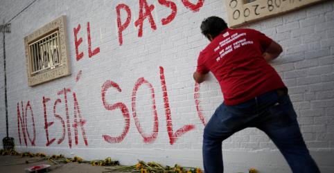 Placeholder - loading - Imagem da notícia Após massacre, El Paso fica no centro de discussão sobre armas e imigração nos EUA