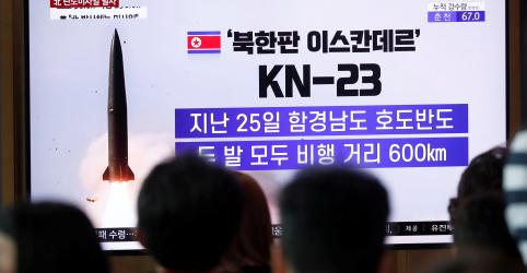 Placeholder - loading - Coreia do Norte lança mísseis e ameaça fazer EUA e Coreia do Sul 'pagar um preço alto'