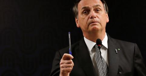 Placeholder - loading - Imagem da notícia Fim da obrigação de balanços em jornais foi retribuição a ataques da imprensa, diz Bolsonaro