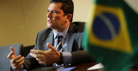 Placeholder - loading - Imagem da notícia ENTREVISTA-Em reforço de combate ao crime, Moro prepara ações na fronteira