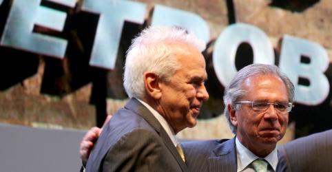 Placeholder - loading - Guedes diz a CEO da Petrobras que não duvida da privatização de 'coisas maiores'