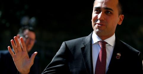 Líder do 5-Estrelas indica fim iminente do governo da Itália e agradece premiê