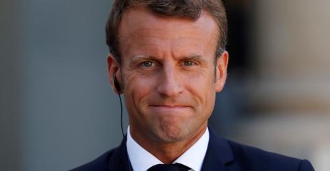 Macron diz que incêndios na Amazônia são emergência internacional