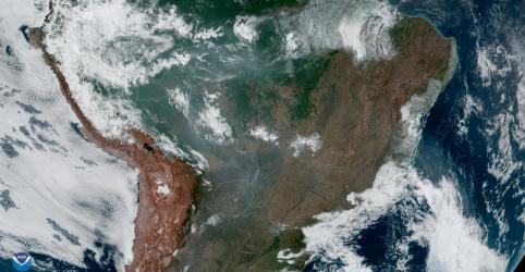 EUA estão 'profundamente preocupados' com incêndios na Amazônia