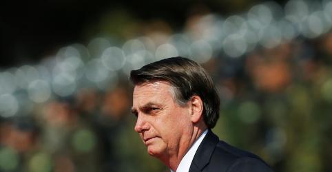 Placeholder - loading - Imagem da notícia Não podemos aceitar que Macron faça ataques 'descabidos e gratuitos' à Amazônia, diz Bolsonaro