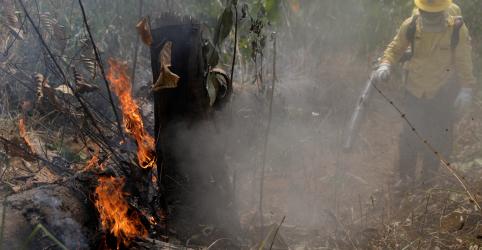 Incêndios na Amazônia não estão fora de controle, diz governo