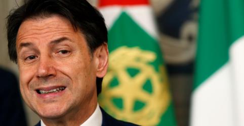 Placeholder - loading - Conte aceita continuar como premiê da Itália para formar novo governo