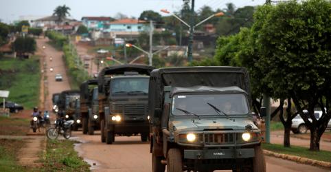 Placeholder - loading - Exército reforça combate a incêndios no Amazonas após recorde em número de queimadas