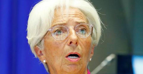 Placeholder - loading - BCE precisa de revisão de política e deveria aumentar foco em mudança climática, diz Lagarde