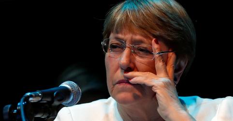 Bolsonaro ataca Bachelet e presidente chileno sai em defesa de antecessora