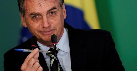 Placeholder - loading - Imagem da notícia Bolsonaro diz que acatou vetos sugeridos por ministros a projeto de abuso de autoridade