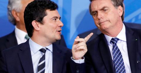 Placeholder - loading - Moro supera aprovação de Bolsonaro em 25 pontos e tem 54% de ótimo/bom, diz Datafolha