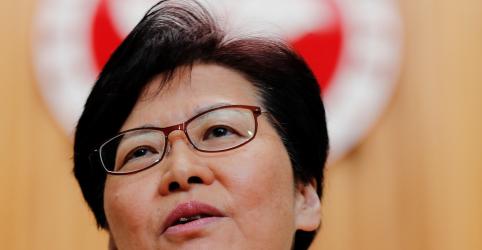 Placeholder - loading - Imagem da notícia Líder de Hong Kong diz que China 'respeita e apoia' retirada de projeto de lei de extradição