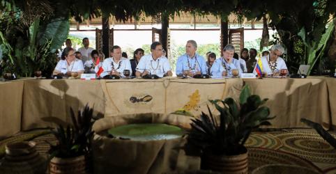 Placeholder - loading - Imagem da notícia Líderes de países da região amazônica acertam medidas para proteger a floresta